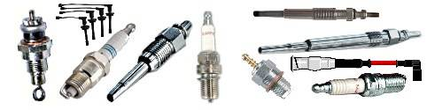 Spark plugs and Glow plugs